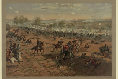Hancock at Gettysburg by Thure de Thulstrup, 1887.