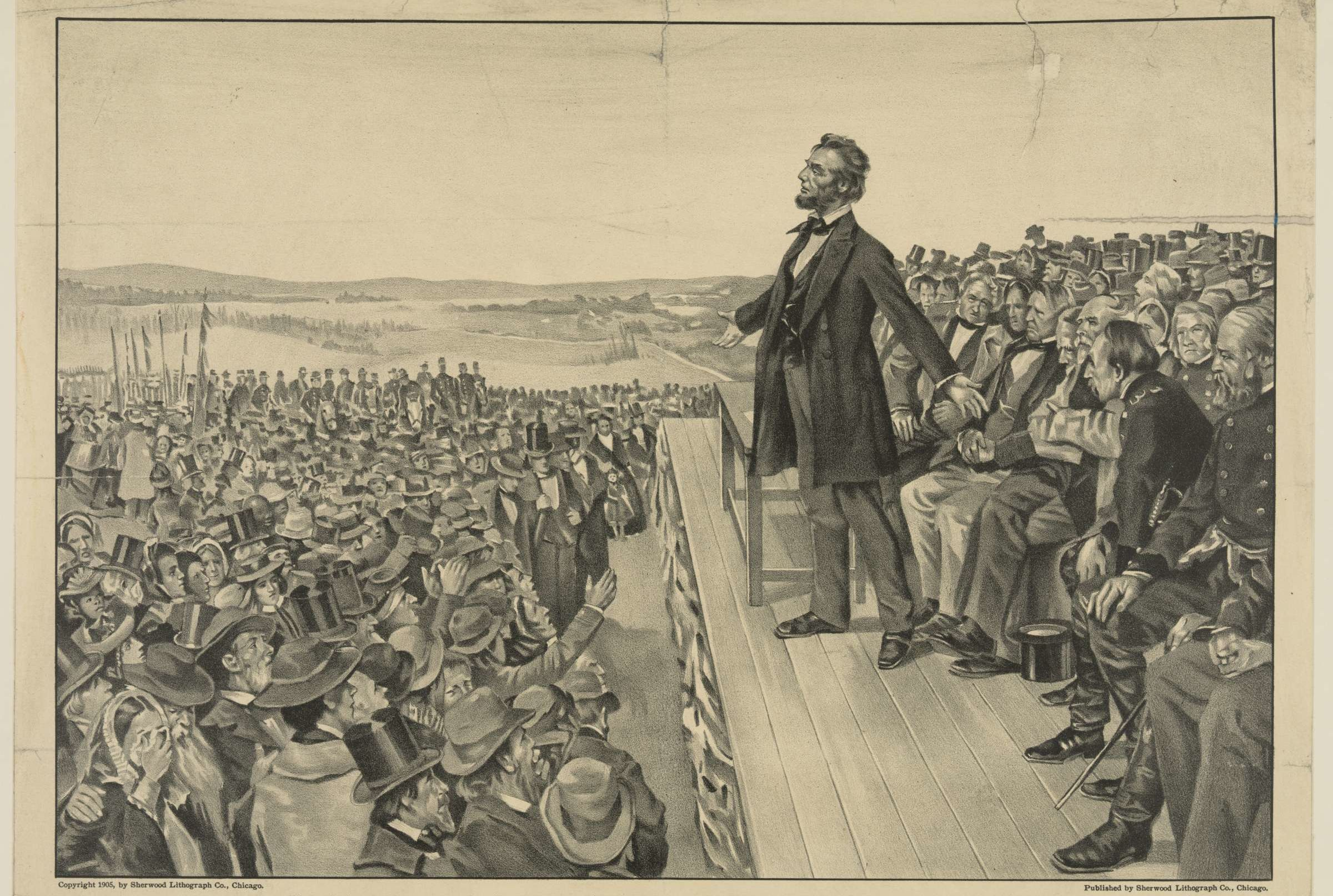 Image result for public domain images of abraham lincoln giving a speech