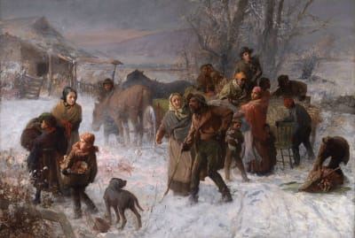 The Underground Railroad by Charles T. Webber.