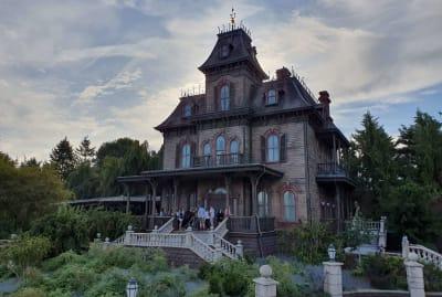 The Phantom Manor at Disneyland Paris.