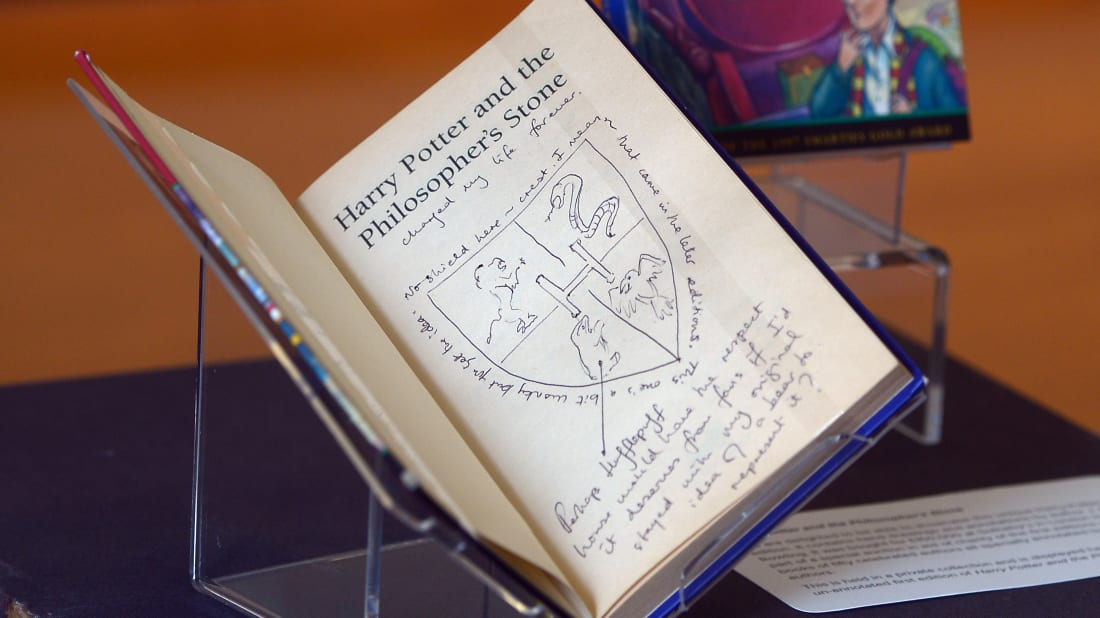 Two Harry Potter Books Worth Nearly $4000 Showed Up on Antiques