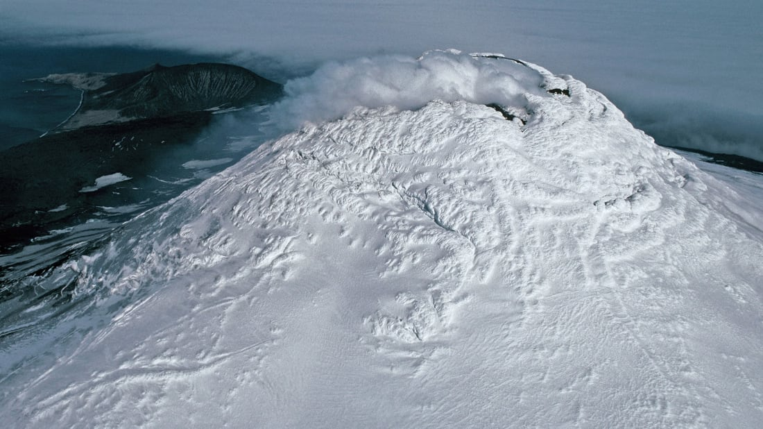 Mount Michael from above.