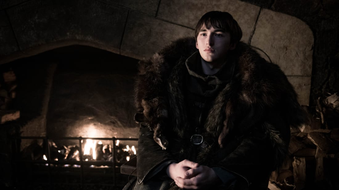 Isaac Hempstead Wright in Game of Thrones season 8