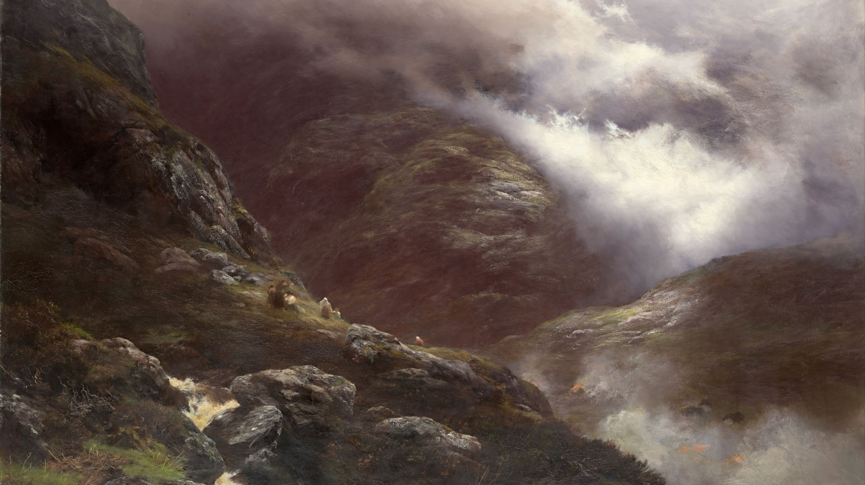 Peter Graham's After the Massacre of Glencoe