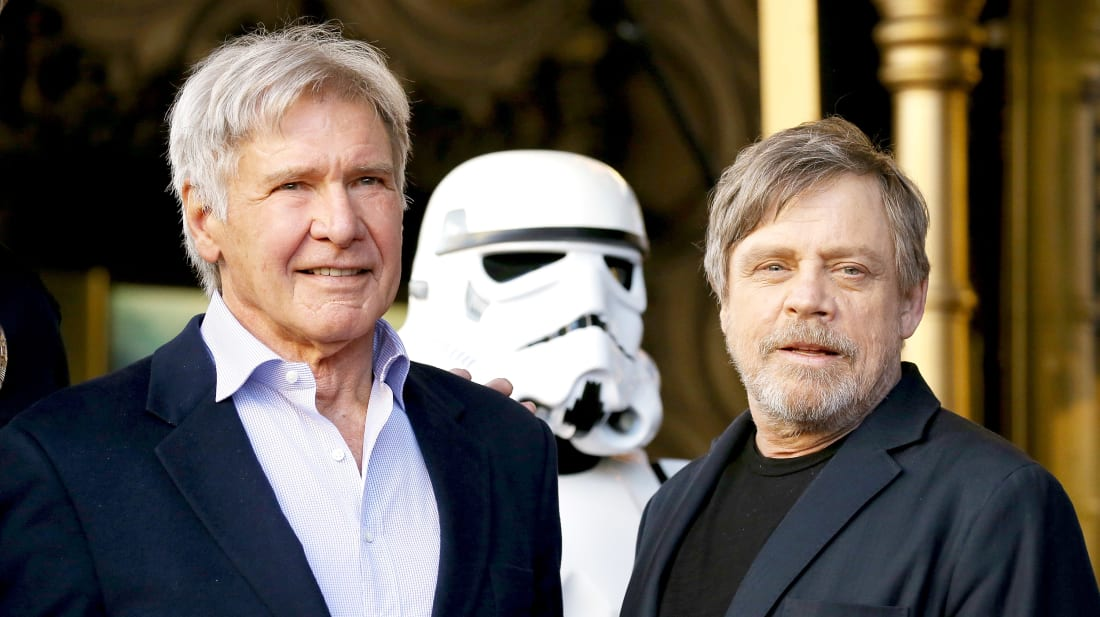 Nope, not even Harrison Ford knew about it.