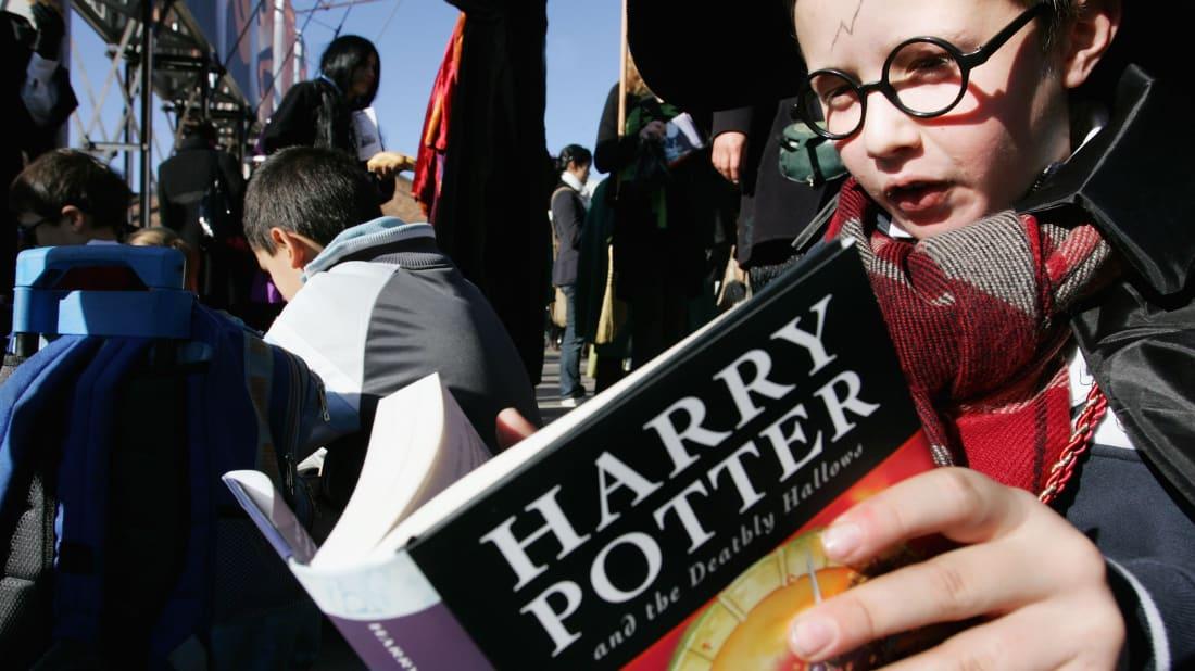 Harry Potter Named the Most Inspirational Children's Book Character