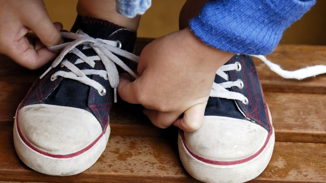 Are Your Kids Struggling to Tie Their Shoes? Teach Them the ...