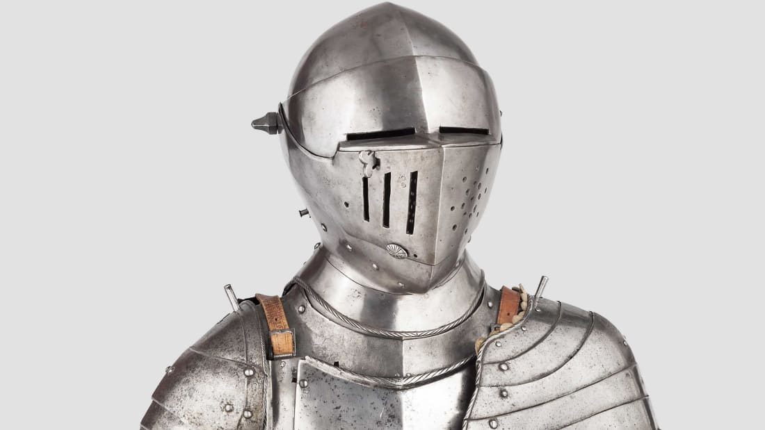 Medieval Swords, Firearms, and a Suit of Armor Are Going Up
