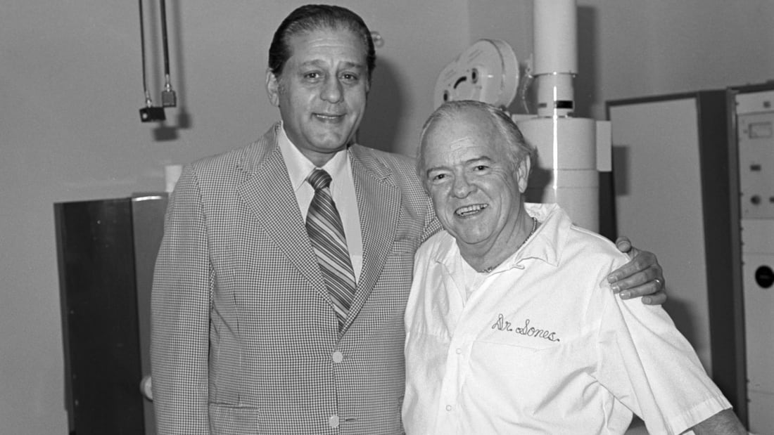Dr. René Favaloro (left) pictured with colleague Dr. Mason Sones.