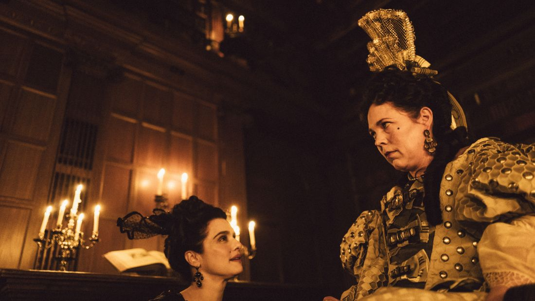 Rachel Weisz and Olivia Colman in The Favourite (2018)
