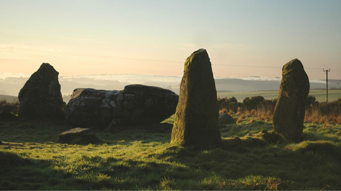 A stone circle like this one was recently shown to be a replica.