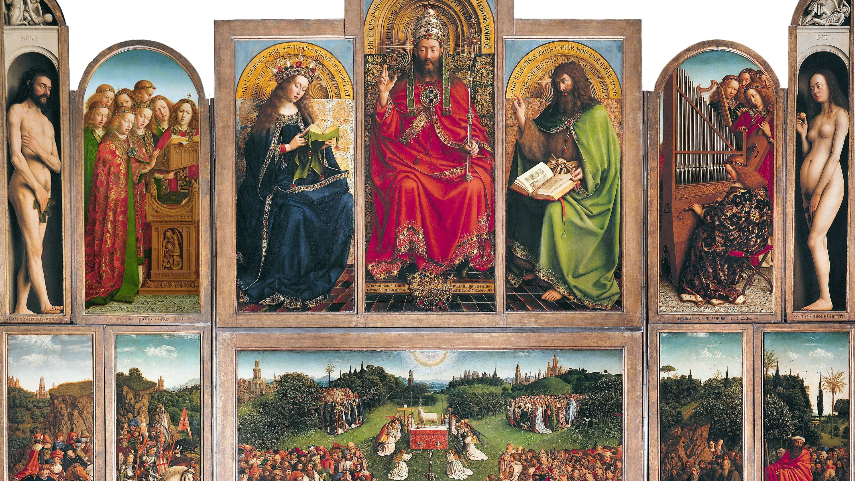 The Enduring Mystery of the Ghent Altarpiece, the World's Most-Stolen Painting