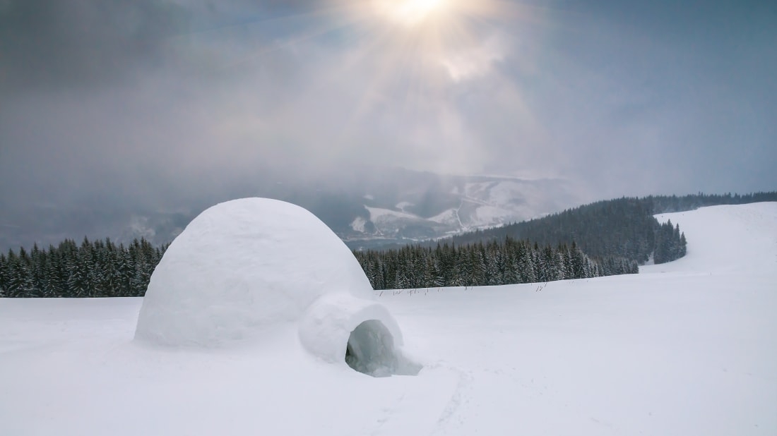 How To Build An Igloo According To A Canadian Film From