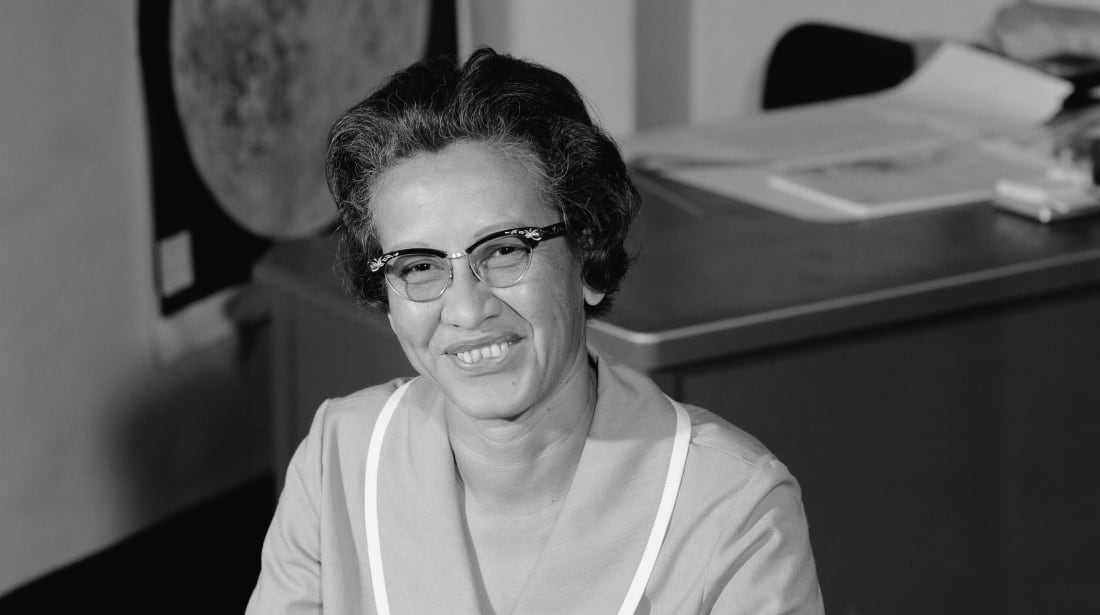 Katherine Johnson at NASA in 1966