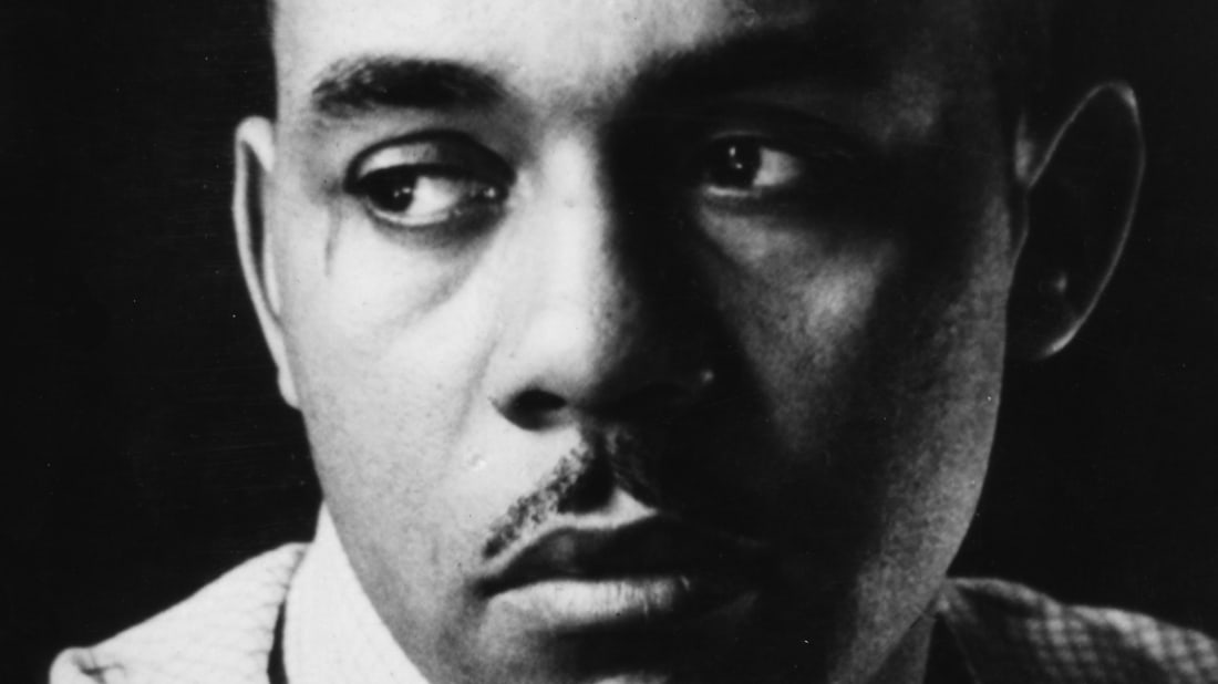 Ralph Ellison, author of Invisible Man