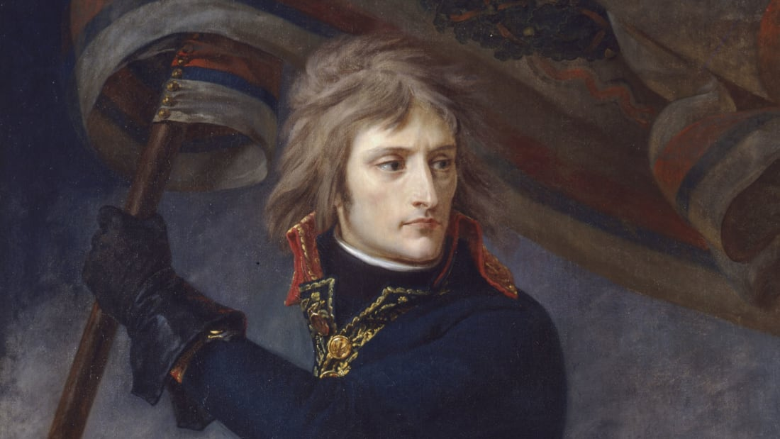 A portrait of Napoleon by Antoine-Jean Gros