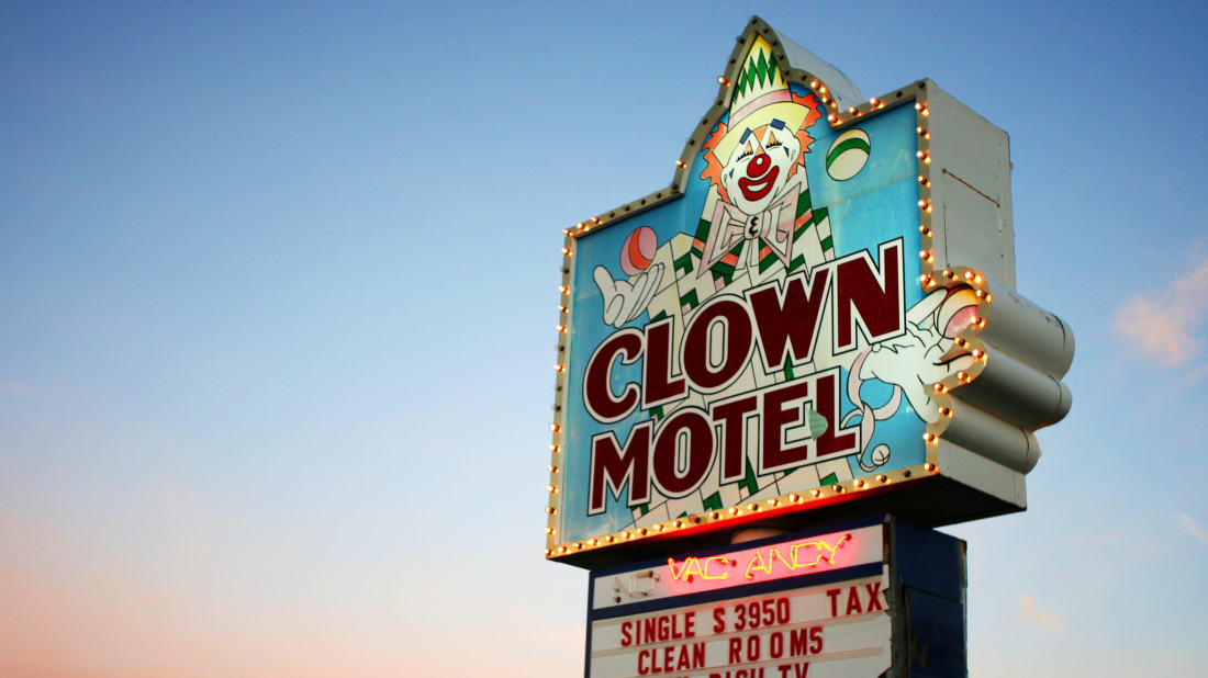 For Sale: A Clown-Themed Motel in Nevada | Mental Floss