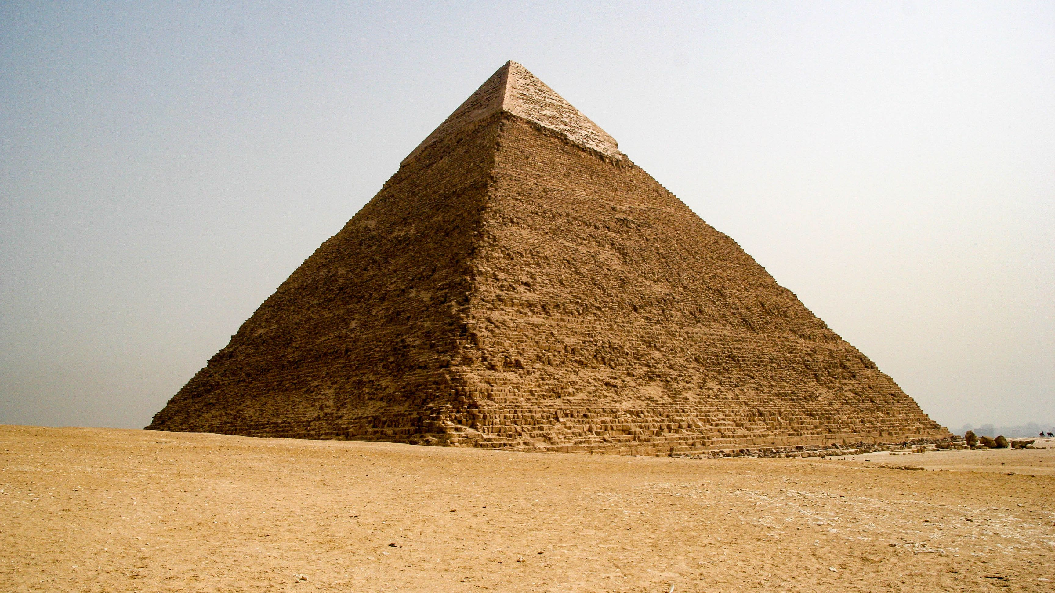 Scientists Discover a Mysterious Void in the Great Pyramid of Giza - Mental Floss
