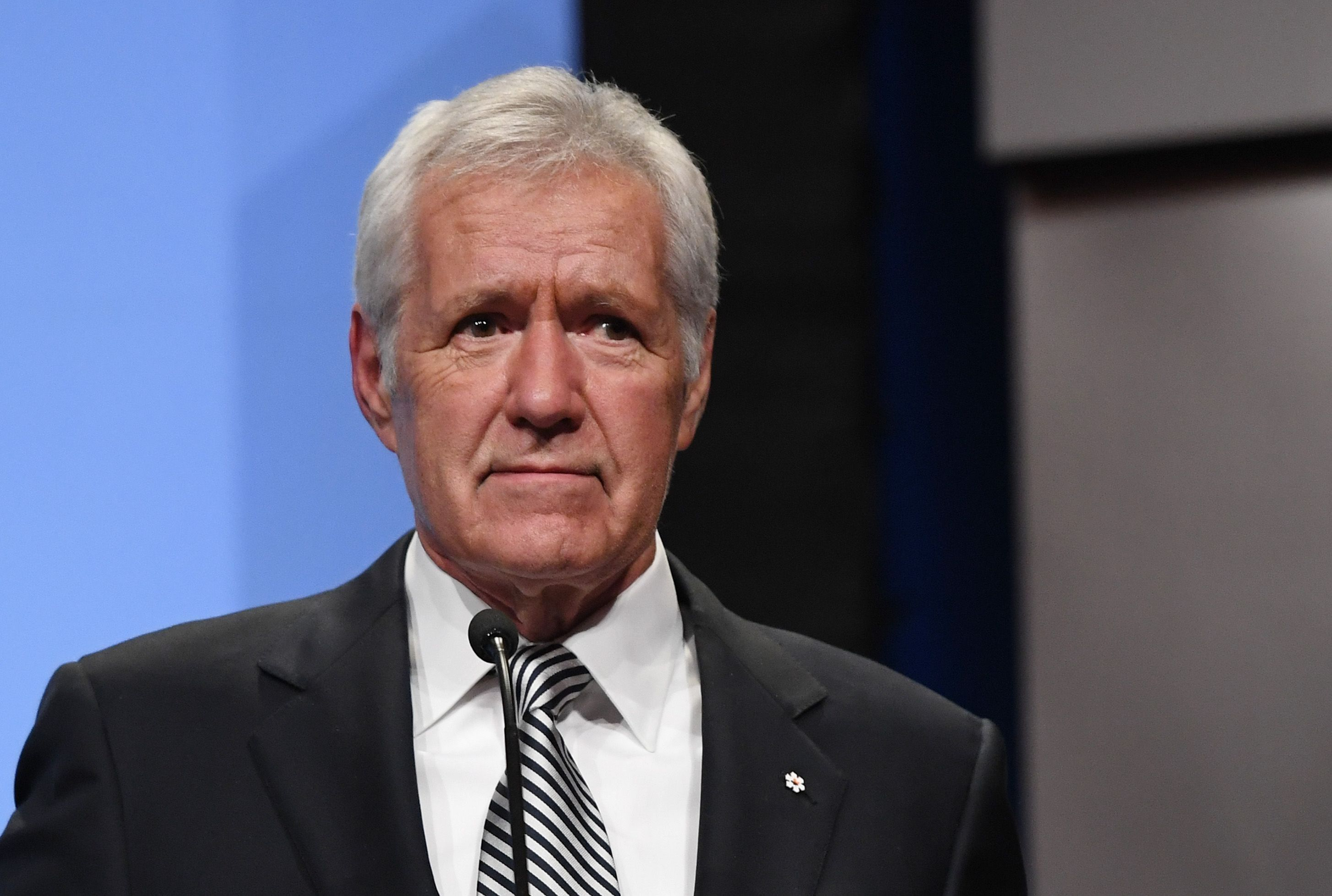 Alex Trebek Knows He Sometimes Sounds Like a 'Disappointed