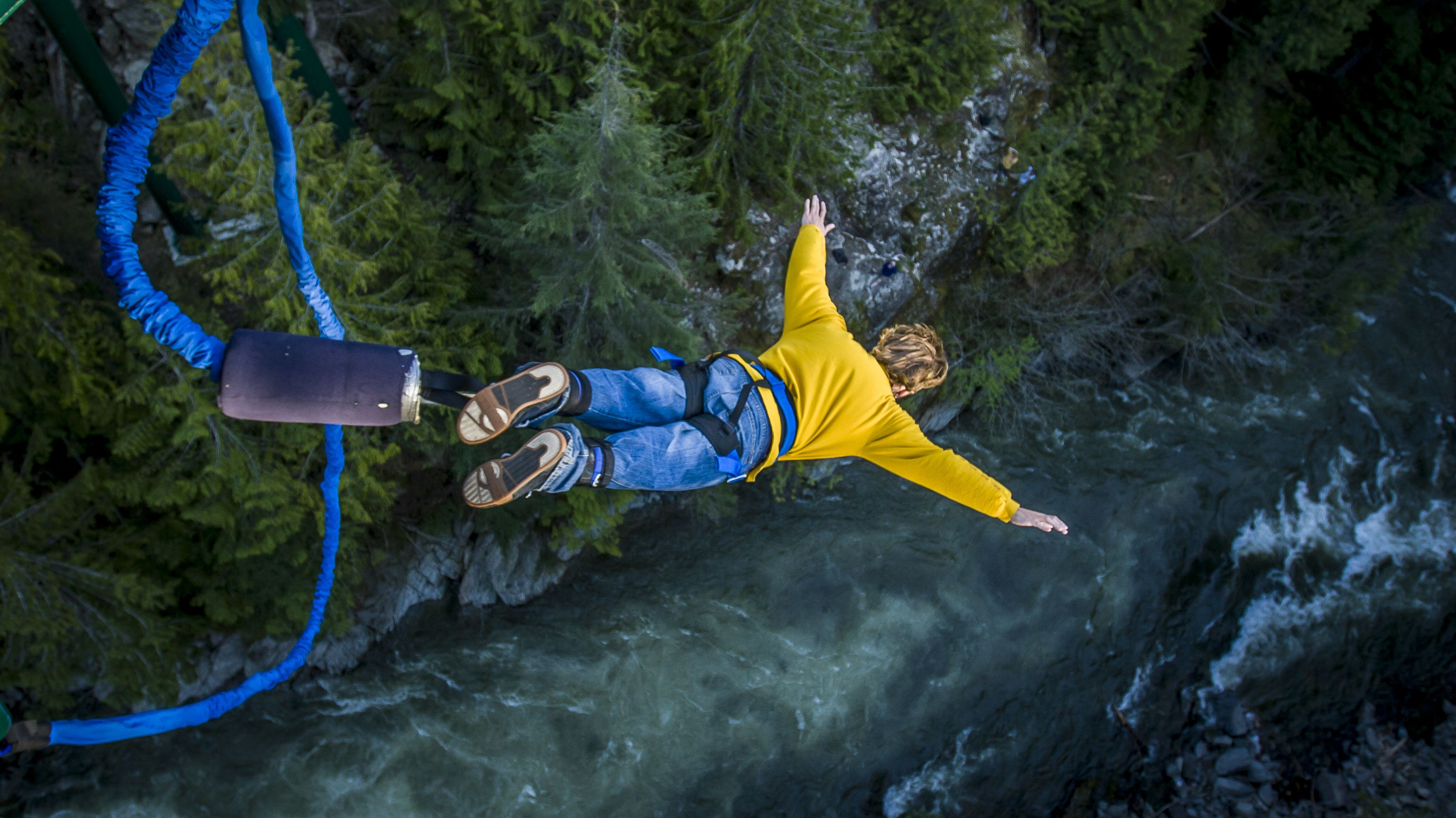 Bungee Jumping.The Early History Of Bungee Jumping Mental Floss