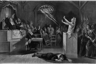 The Salem witch trials were a troubling time in Colonial America.