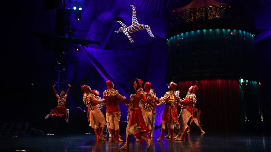 16 Jaw-Dropping Facts About Cirque du Soleil | Mental Floss
