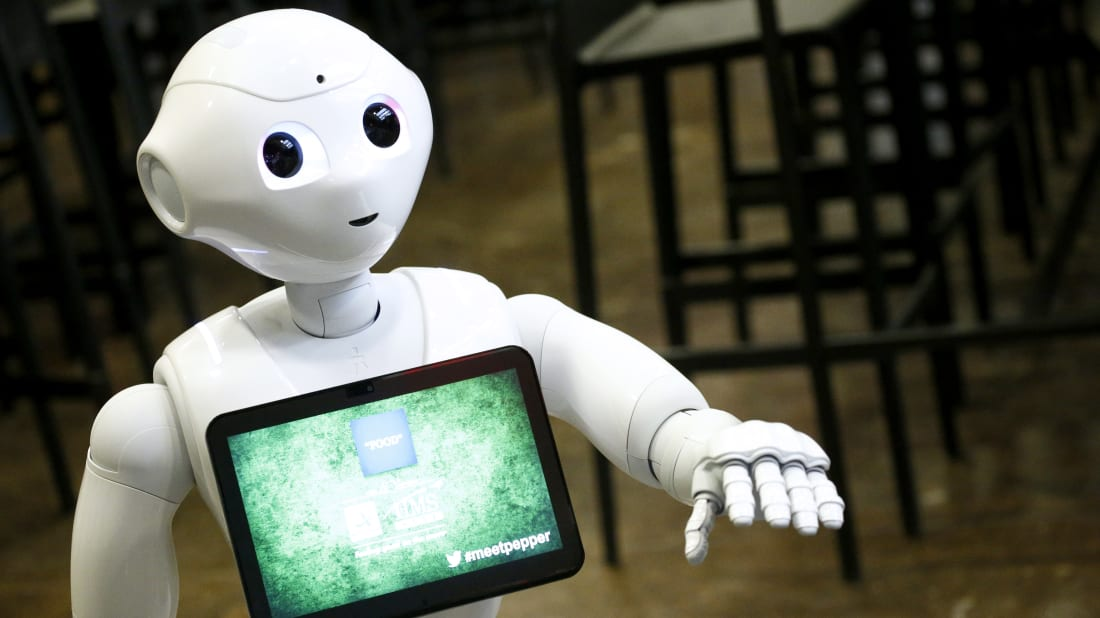 Pepper the Robot at the 2017 New Yorker TechFest in New York City