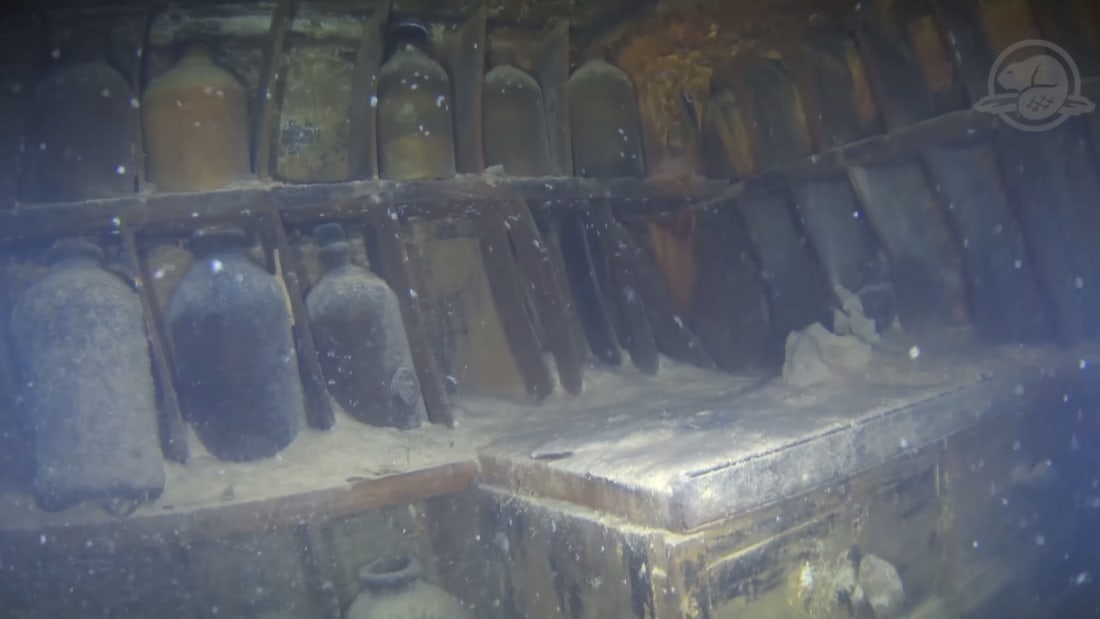 Watch Groundbreaking Underwater Footage of the Franklin Expedition's HMS Terror Shipwreck