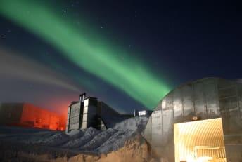 Amundsen-Scott South Pole Station in Antarctica