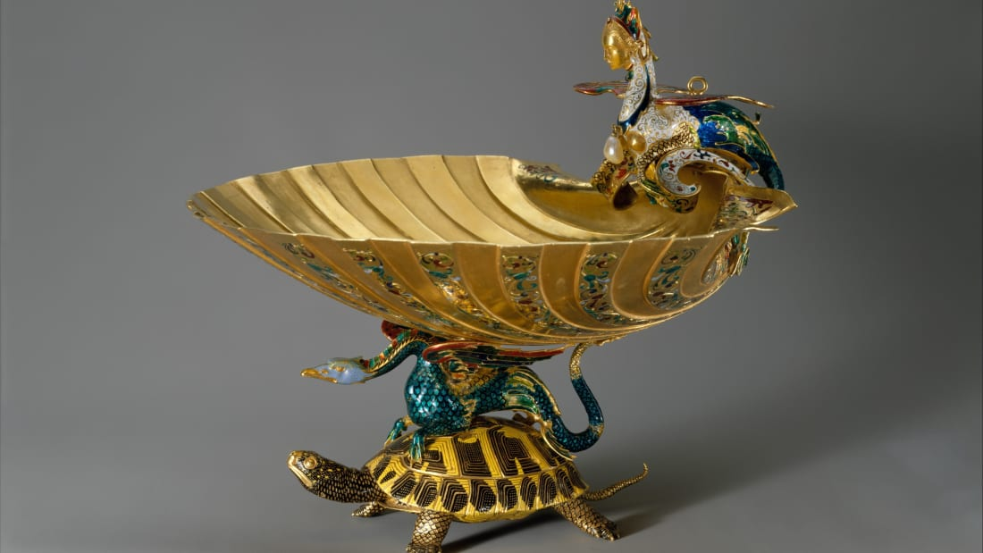 Copy of the Rospigliosi cup formerly attributed to Benvenuto Cellini.
