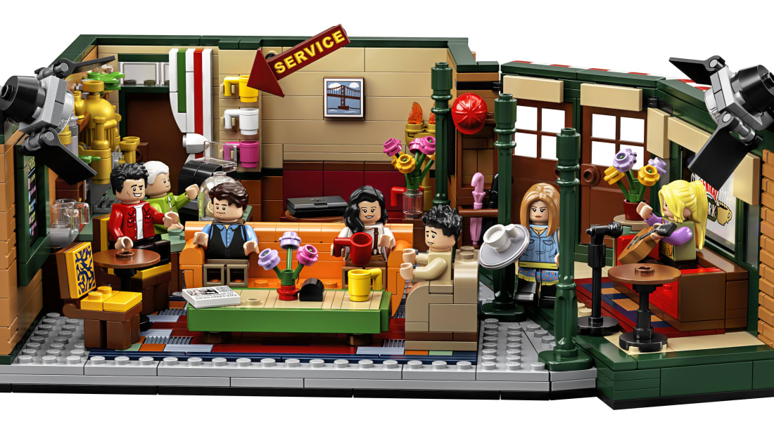 Lego Friends Christmas Sets.The Lego Group Is Releasing A Central Perk Set For The 25th