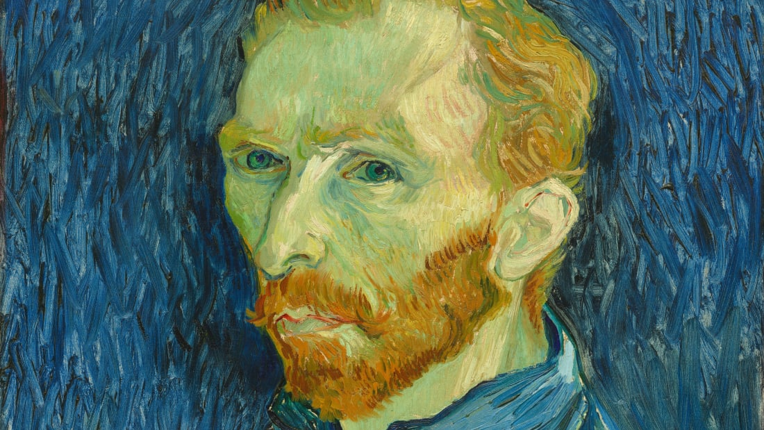Self-Portrait by Vincent van Gogh, 1889.
