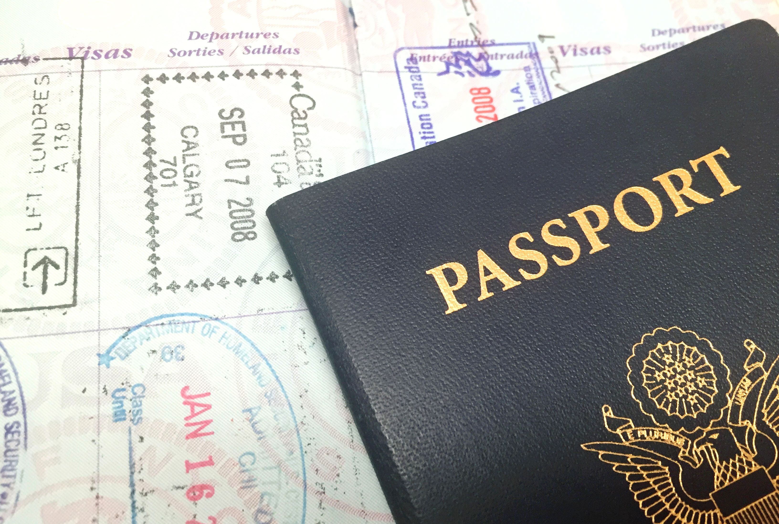 What to Do If Your Passport Is Running Out of Pages | Mental Floss