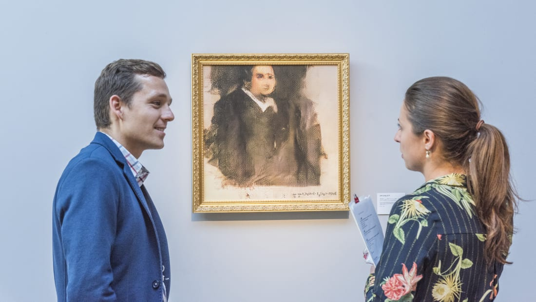 Christie's Will Hold the First Major Auction of an AI-Generated Artwork