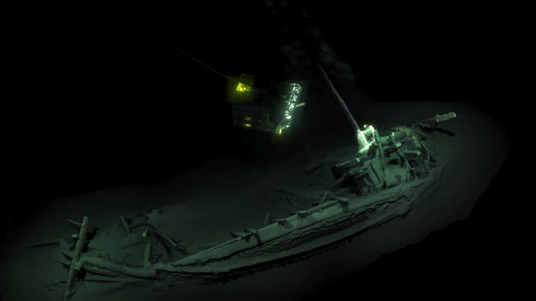 Courtesy of The Black Sea Maritime Archaeology Project
