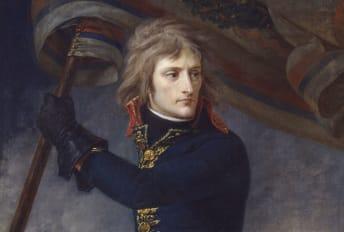 A portrait of Napoleon by Antoine-Jean Gros