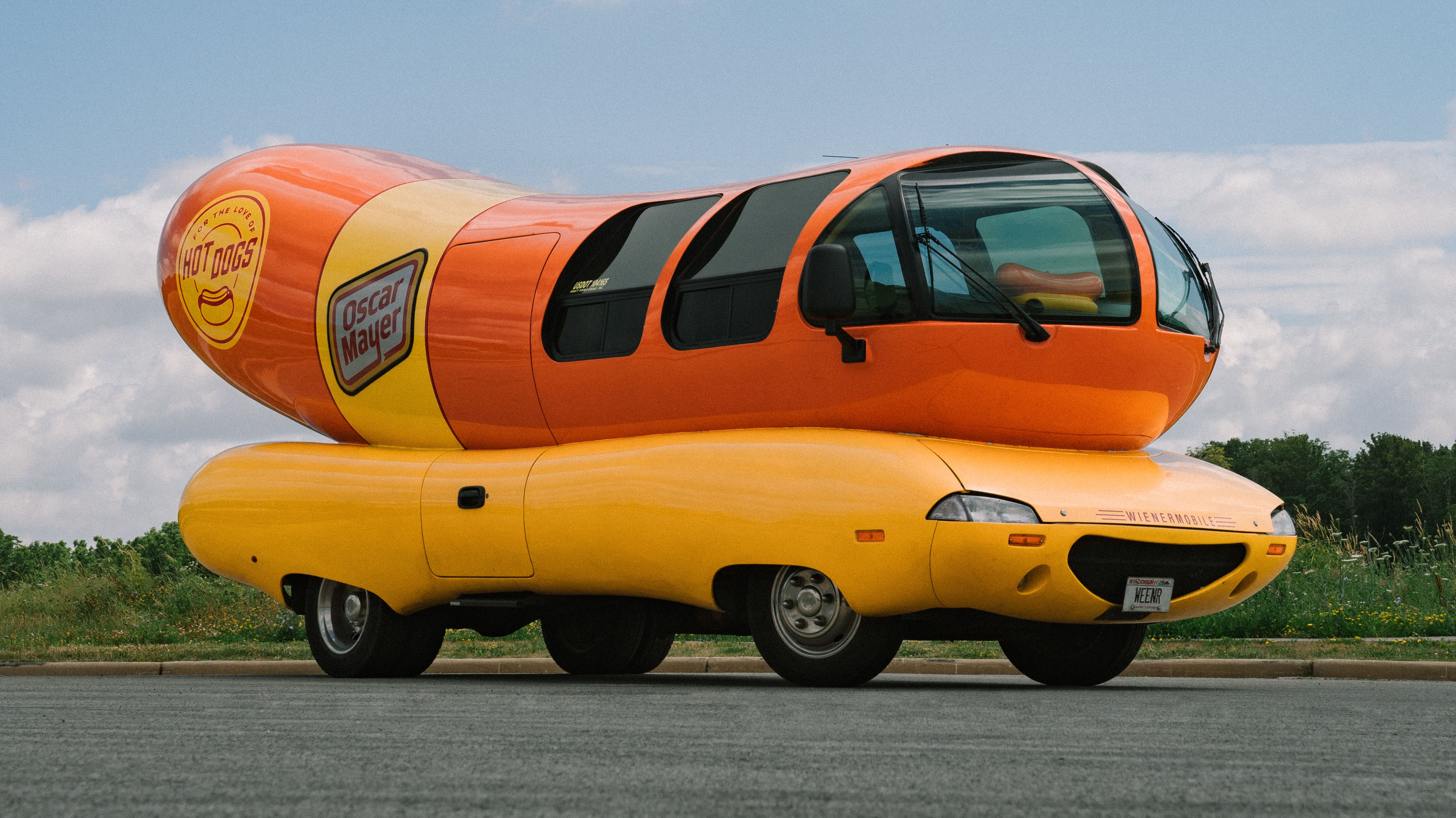 oscar mayer is renting out the wienermobile on airbnb for overnight stays