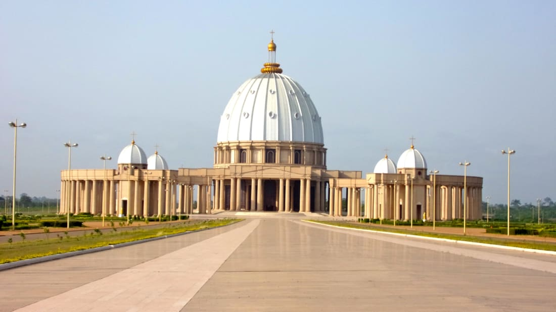 Basilica of Our Lady of Peace, Yamoussoukro, Côte d'Ivoire