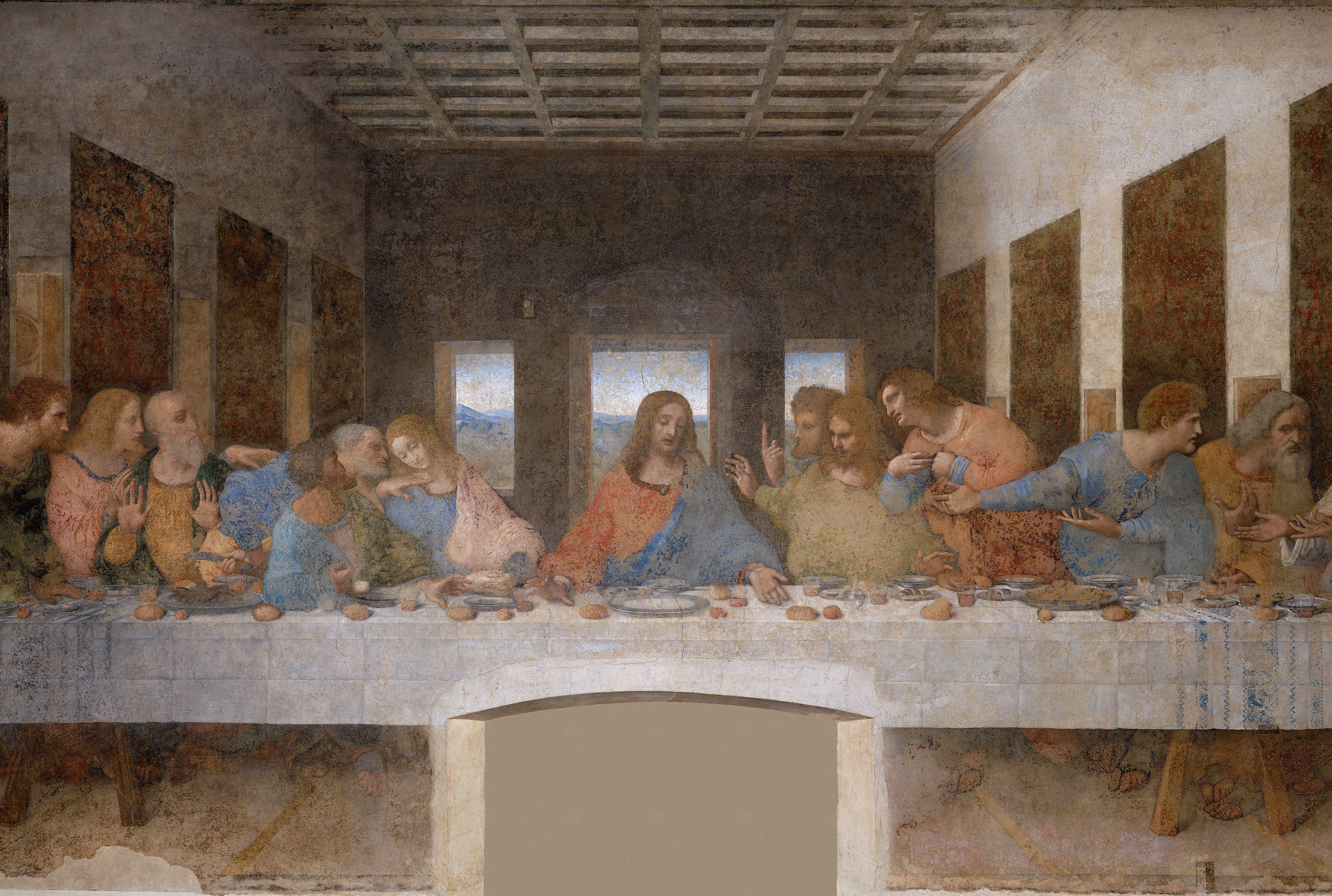 15 Facts About Leonardo Da Vinci S The Last Supper Mental Floss
