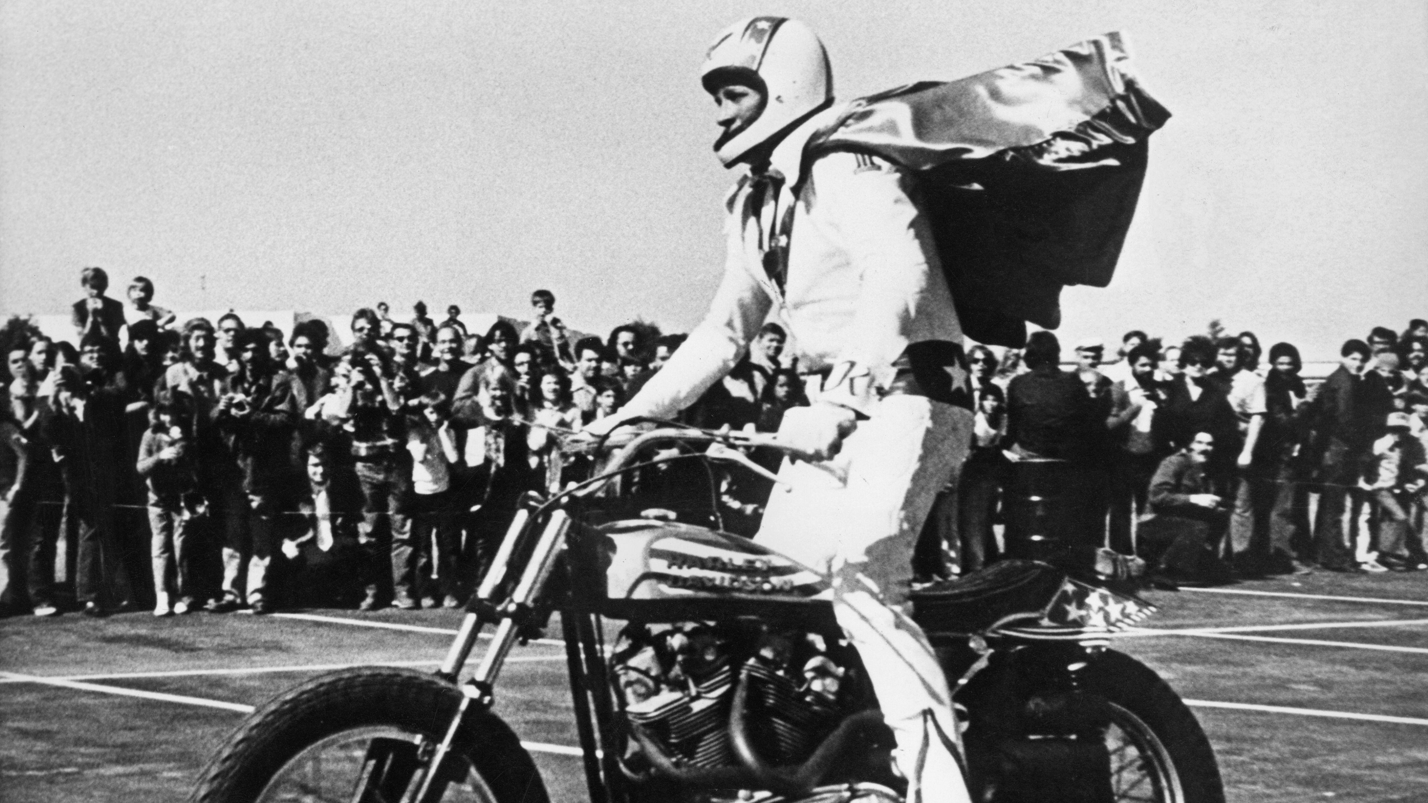 Evel Knievel Harley Auction: Evel Knievel, Insurance Salesman