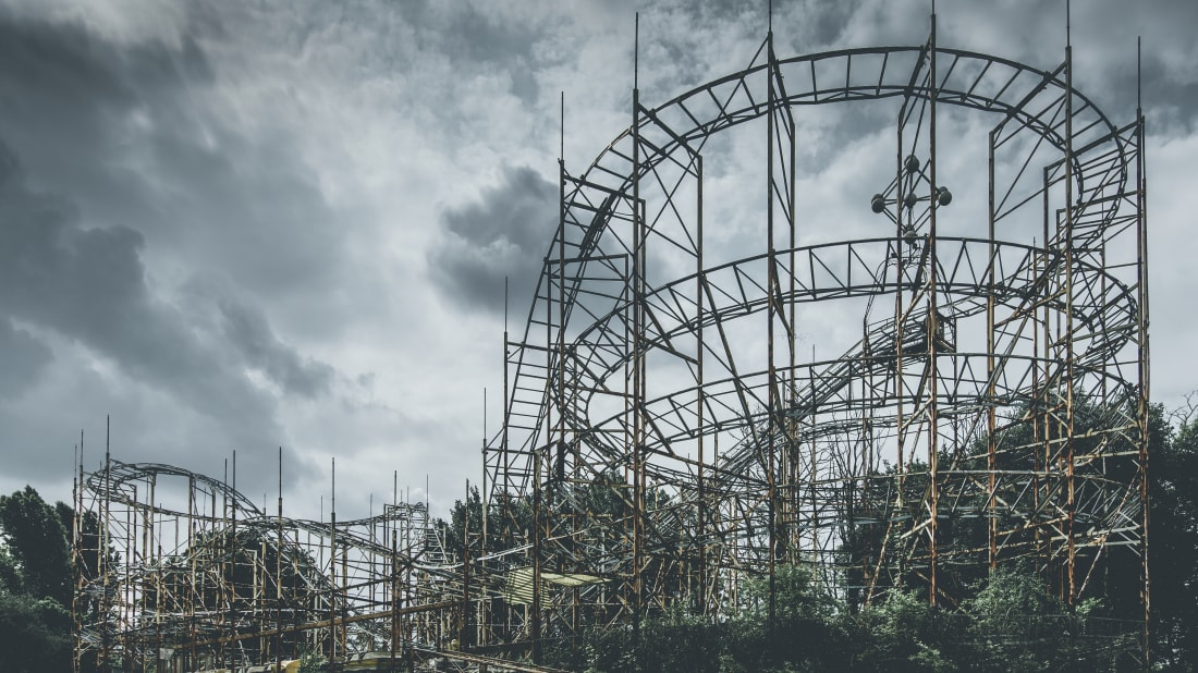 Ghost Town in the Sky—a 'Cursed' Theme Park in North