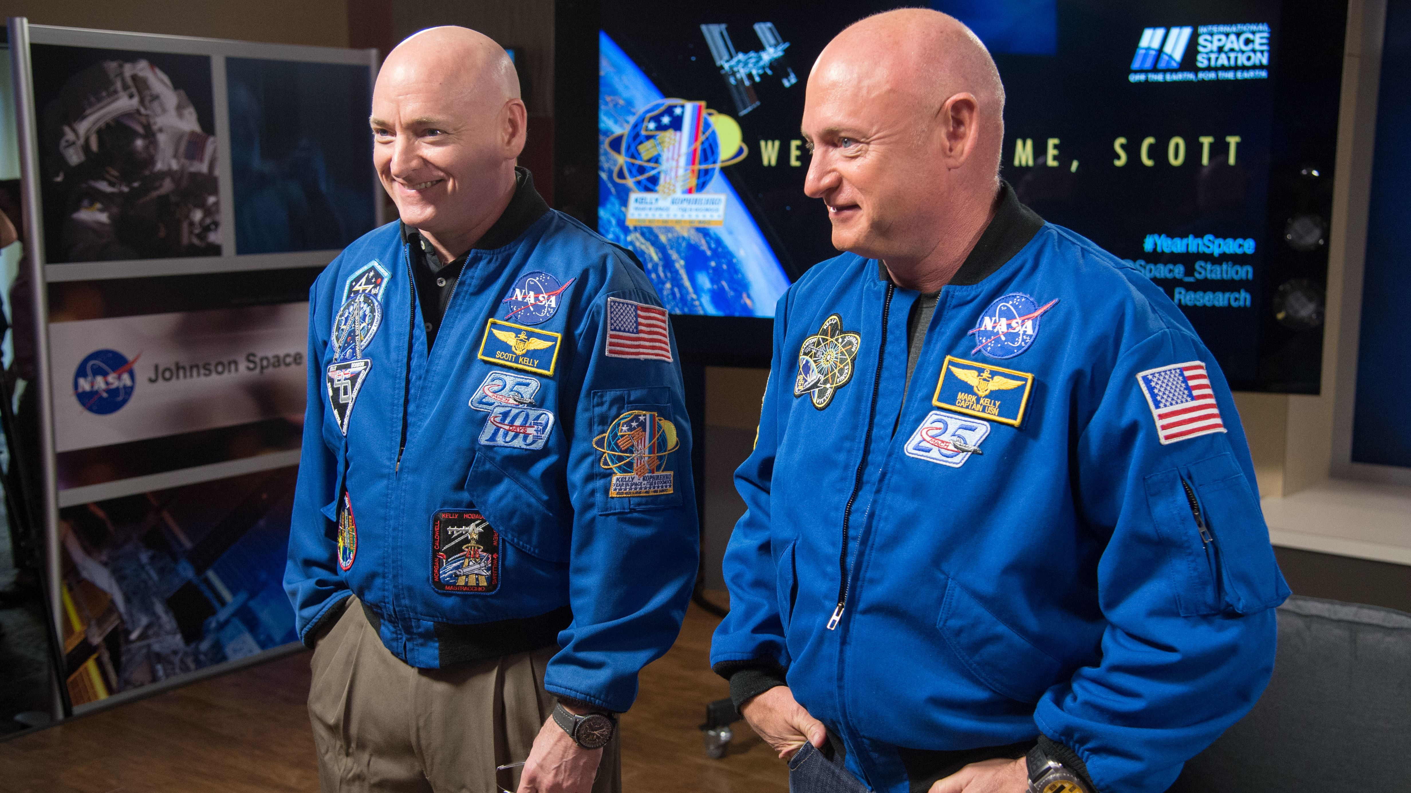 After a Year in Space, Astronaut Scott Kelly Is No Longer Genetically Identical to His Twin Brother - Mental Floss