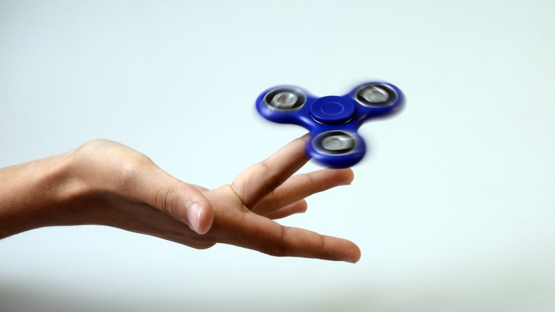 Mathematician Calculates Rotational Speed of Fidget Spinner