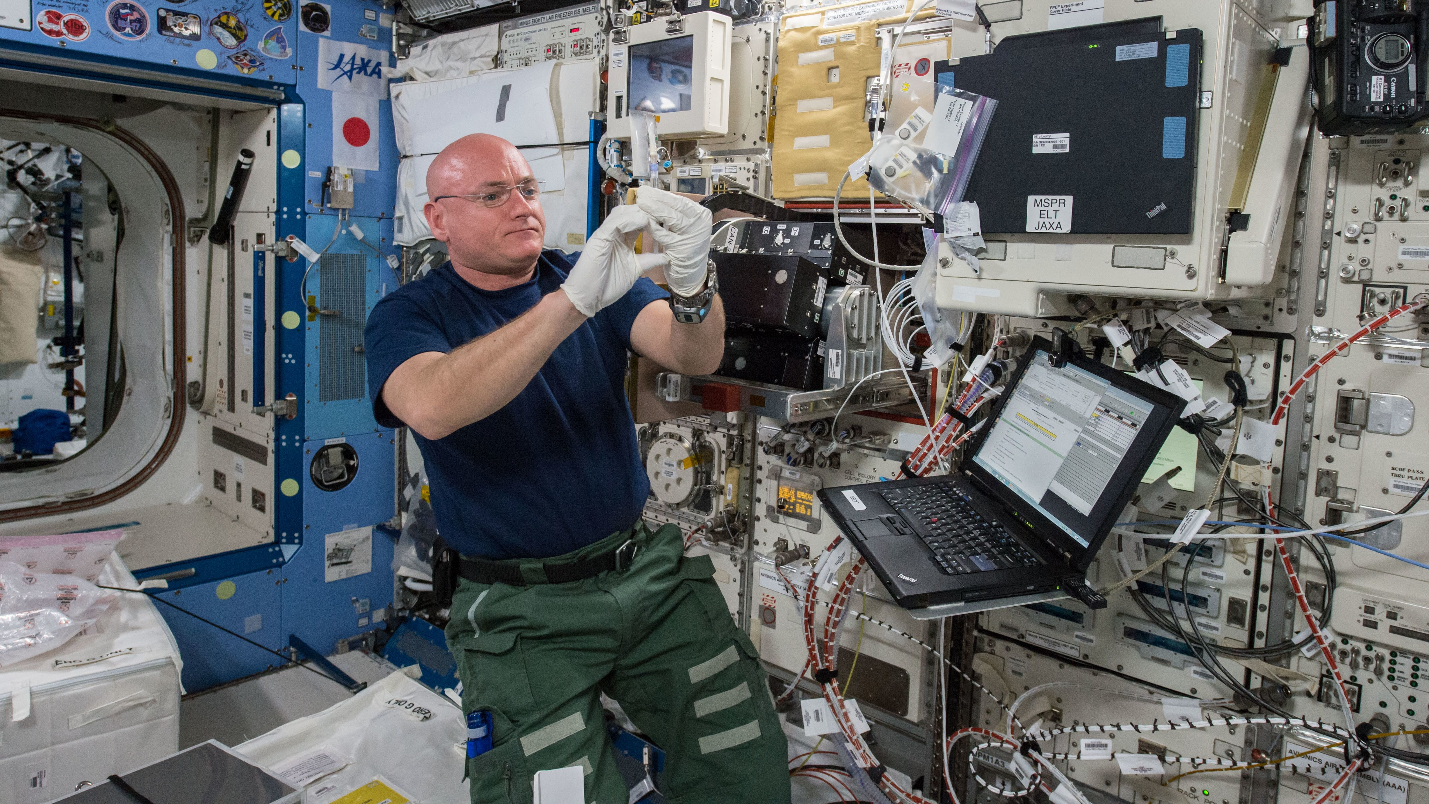The Fascinating Device Astronauts Use to Weigh Themselves in Space - Mental Floss
