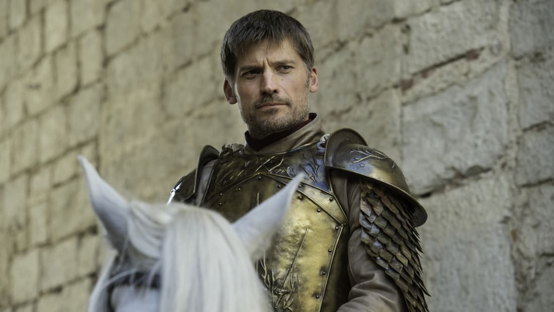 Nikolaj Coster-Waldau as Jaime Lannister in Game of Thrones