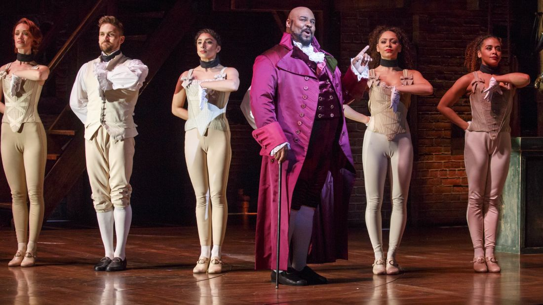 Courtesy of Hamilton on Broadway.