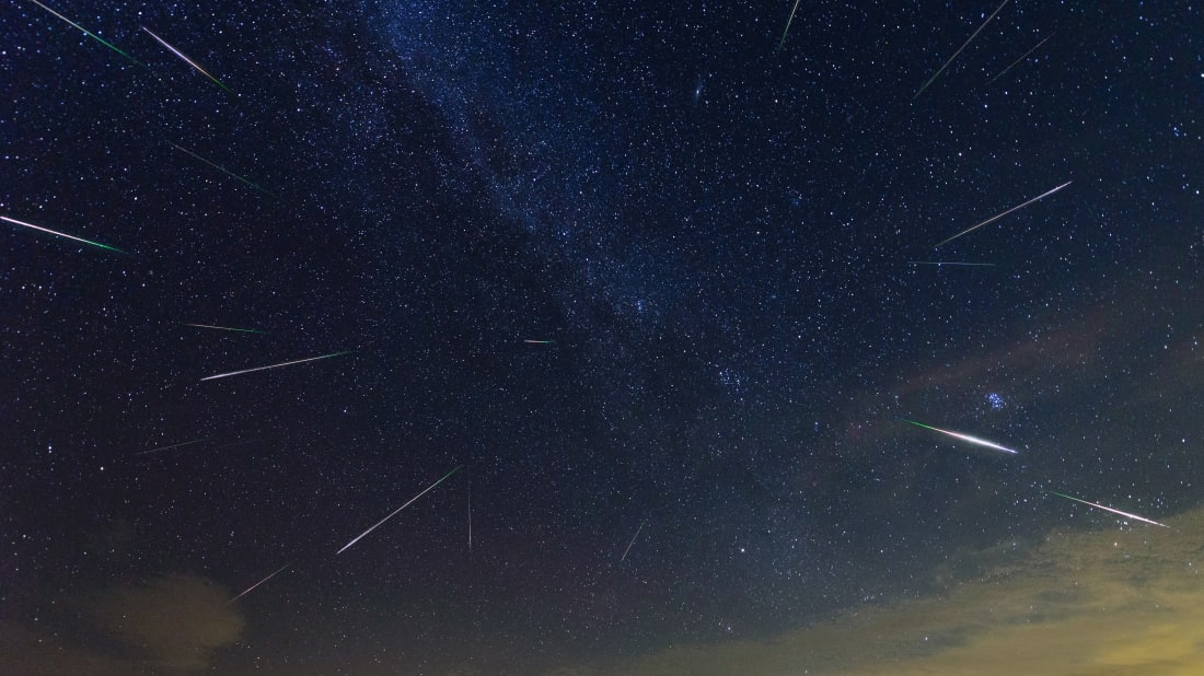 Perseid meteor shower peaks August 12th