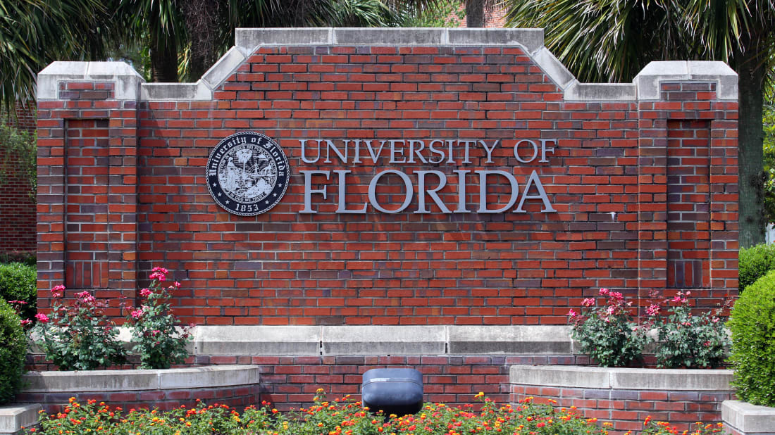 The University of Florida, home to the Florida Gators.