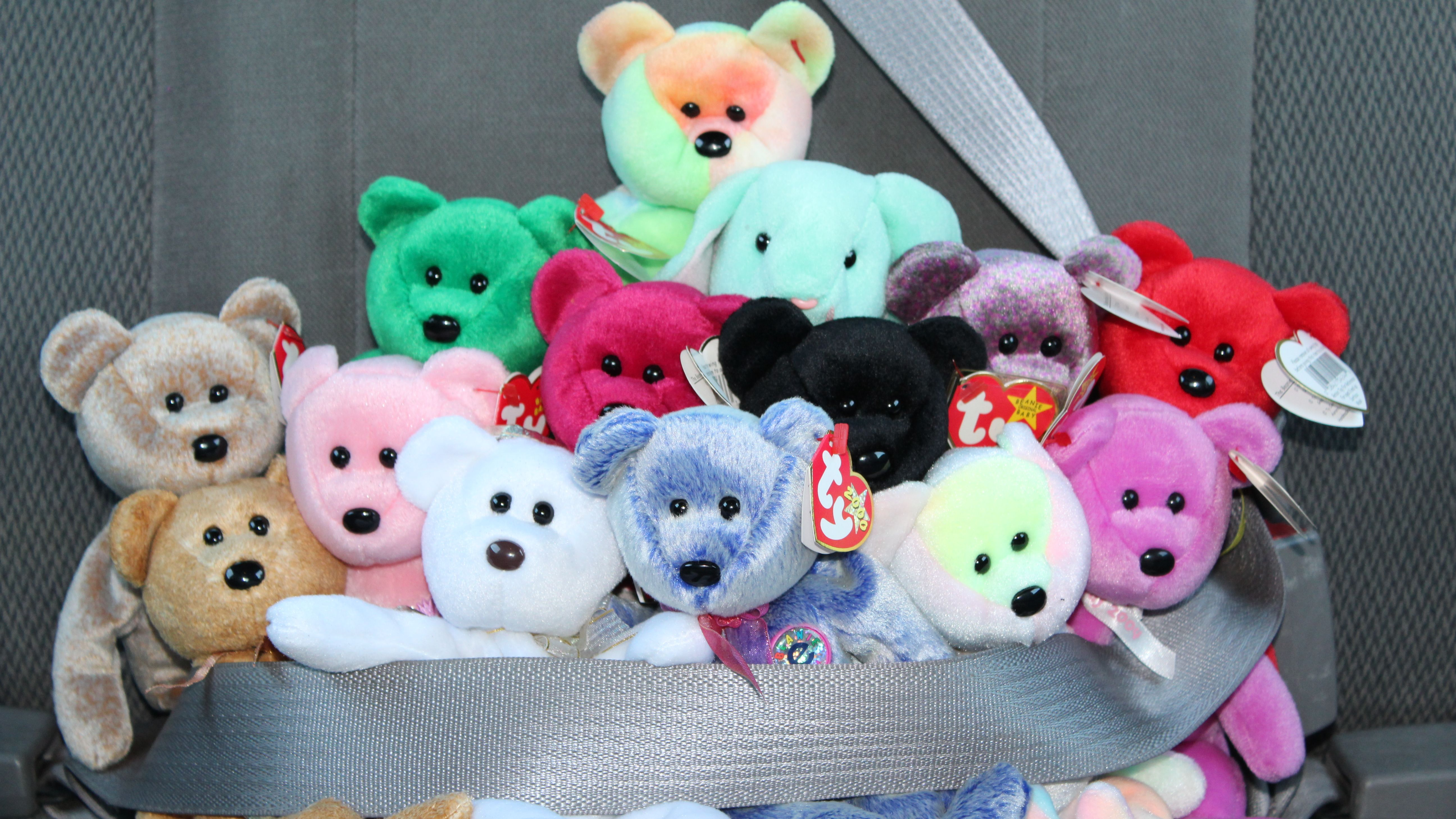 image relating to Beanie Baby Checklist Printable named The 10 Maximum Worthwhile Beanie Toddlers That Could possibly Be Hiding within just