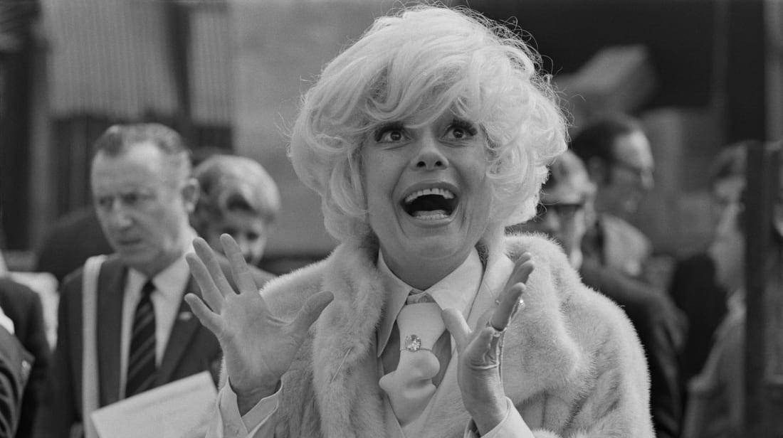 Carol Channing circa 1970.